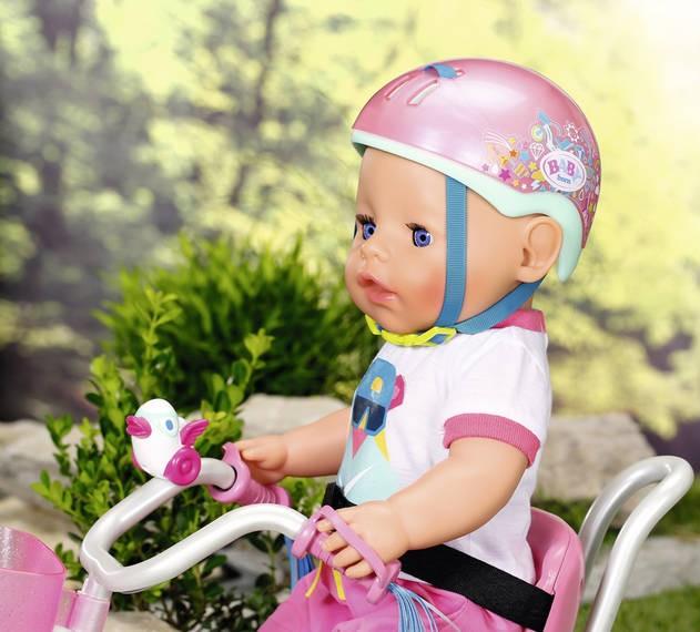 ZAPF CREATION - Baby Born Prilba na bicykel 827215