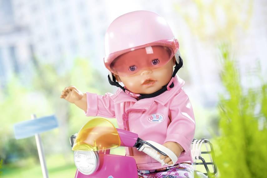 ZAPF CREATION - BABY Born Prilba na skúter 825914
