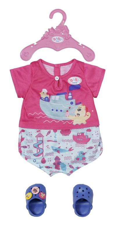 ZAPF CREATION - BABY born Pyžamko a papučky, 43 cm