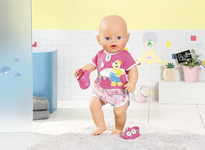 ZAPF CREATION - Baby Born Pyžamko a papučky 827437