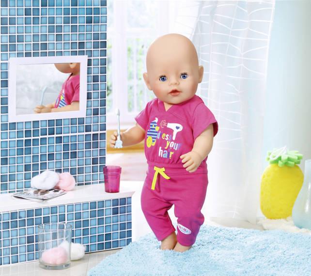 ZAPF CREATION - Baby Born Pyžamo s kefkou na zuby 823590