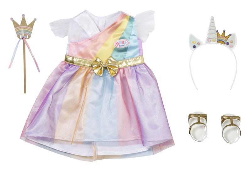 ZAPF CREATION - BABY born Rozprávkové oblečenie pre princeznú Deluxe, 43 cm