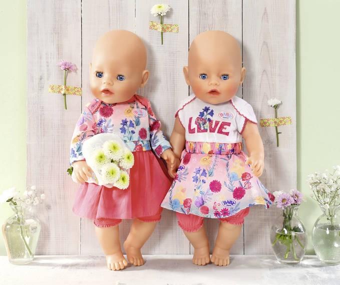 ZAPF CREATION - BABY Born Šatočky 43 cm 826973