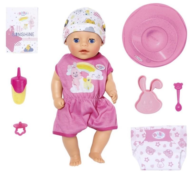 ZAPF CREATION - BABY born Soft Touch Little dievčatko 827789, 36 cm