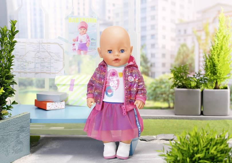 ZAPF CREATION - BABY Born Súprava do mesta Deluxe 43 cm 827147