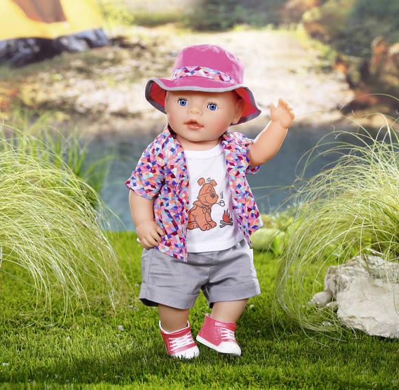 ZAPF CREATION - Baby Born Súprava na kempovanie 823767