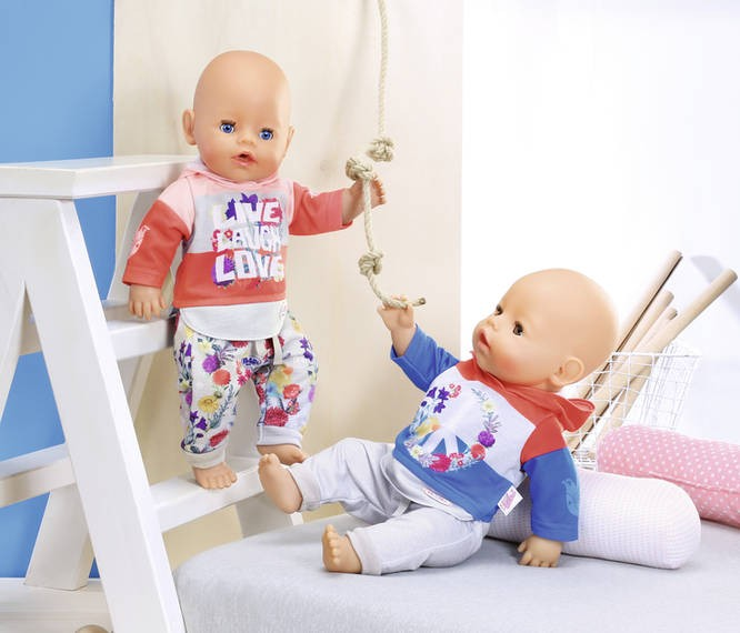 ZAPF CREATION - Baby Born Tepláková súprava 826980