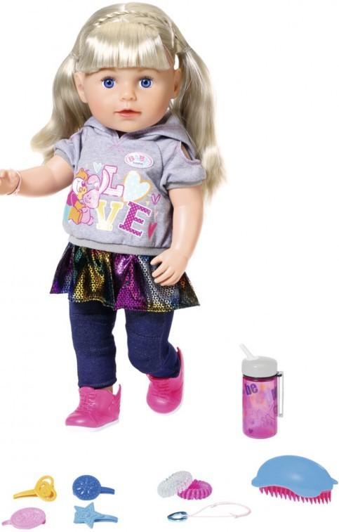 ZAPF CREATION - Staršia sestrička BABY born Soft Touch blondýnka, 43 cm