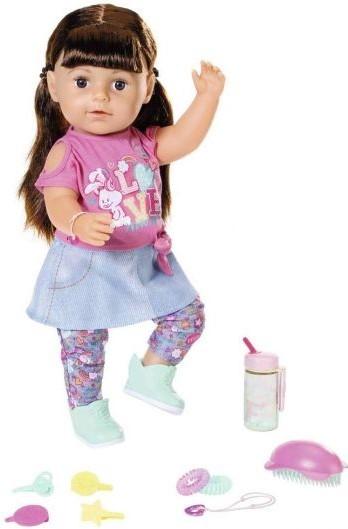 ZAPF CREATION - Zapf Creation Staršia sestrička BABY born Soft Touch brunetka, 43 cm