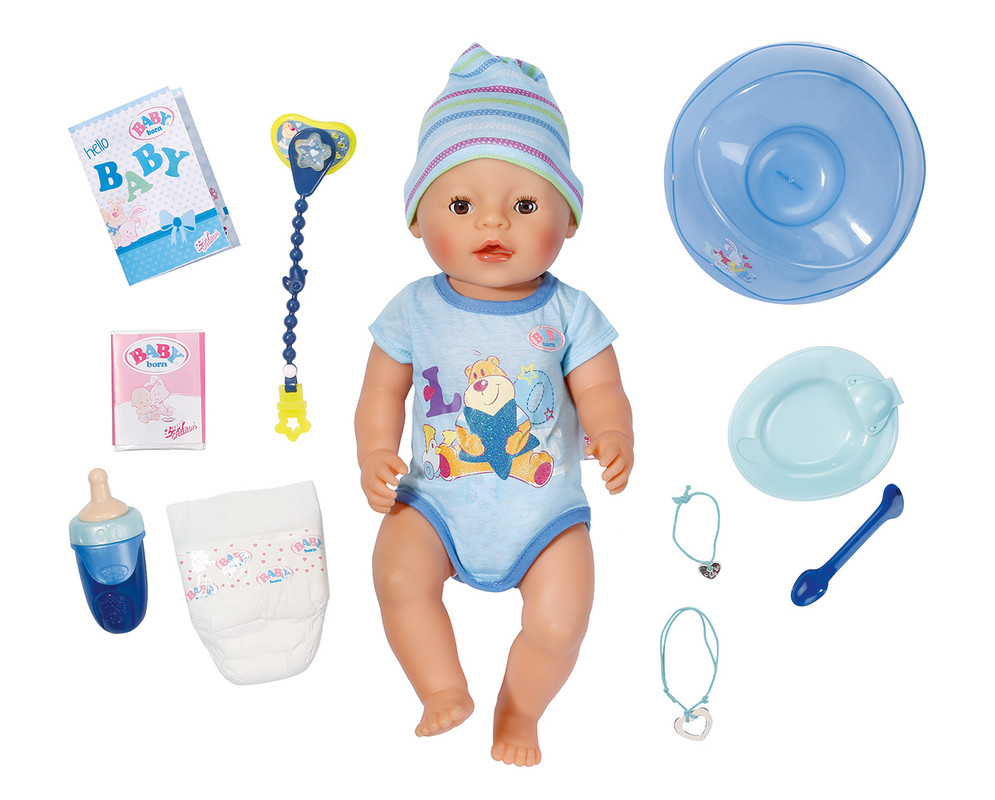 ZAPF - Interaktívna Bábika Baby Born, chlapček