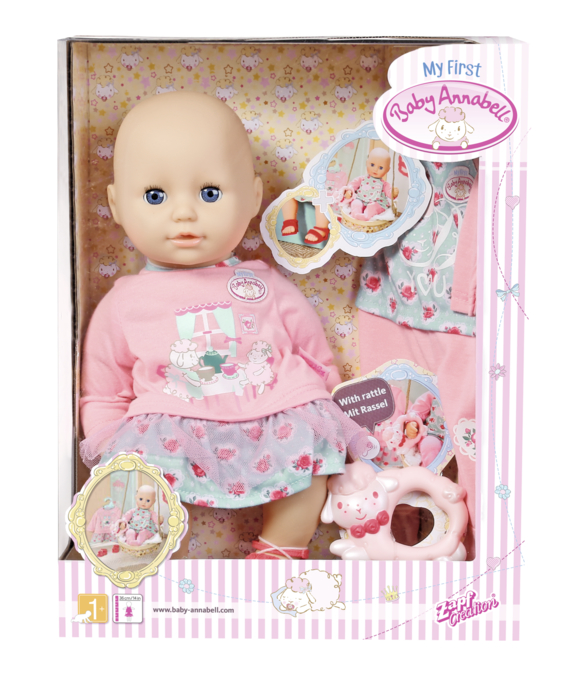 ZAPF - My First Baby Annabell Bábika S Oblečkami
