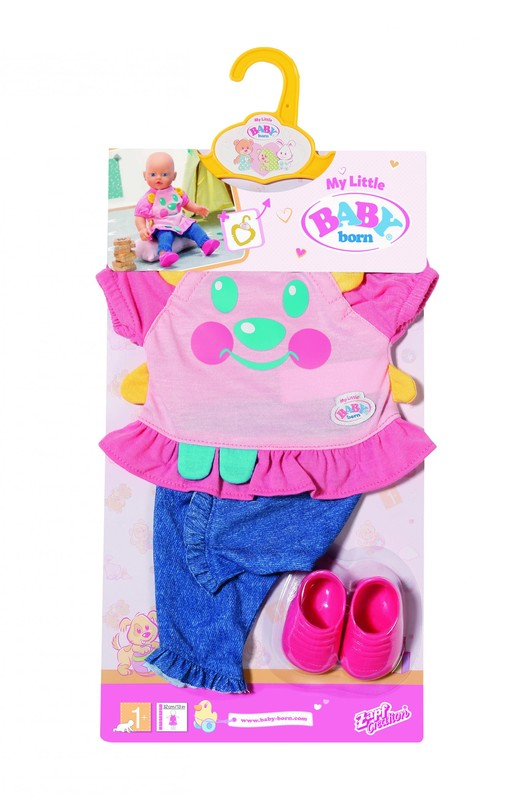 ZAPF - My Little Baby Born Roztomilé oblečenie, 2 druhy