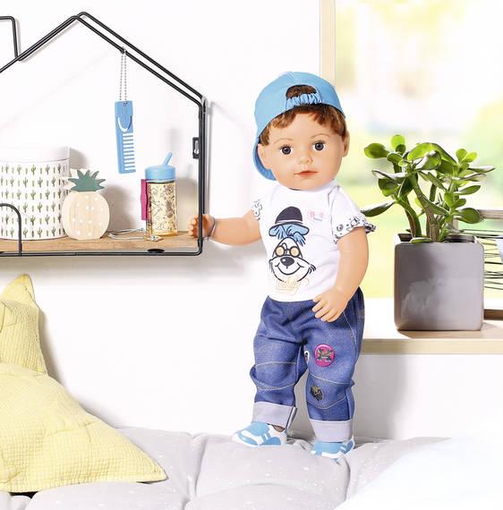 ZAPF - Starší Braček Baby Born Soft Touch, 43 Cm