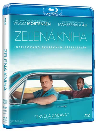Zelená kniha Blu-ray