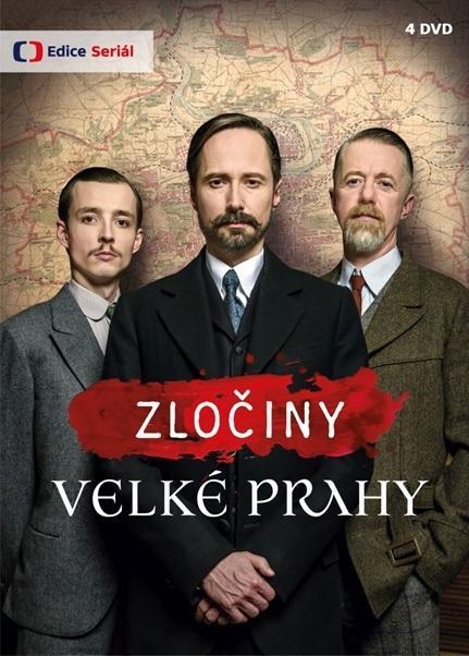 Zločiny Velké Prahy - 4 DVD