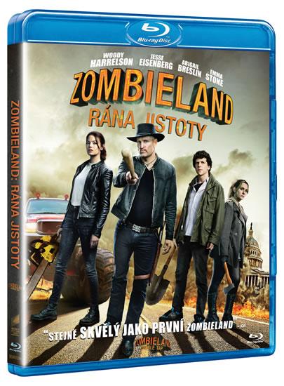 Zombieland: Rána jistoty Blu-ray