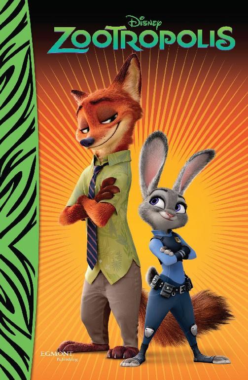 Zootropolis - rozprávkový román - Rozprávkový román - Walt Disney