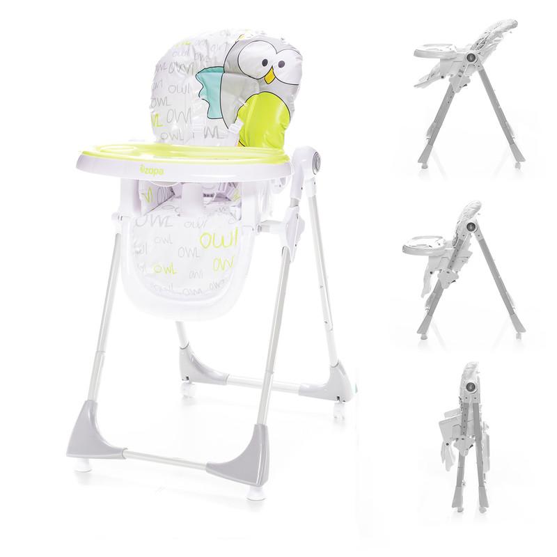ZOPA - Detská jedálenská stolička Monti - Griffin Grey