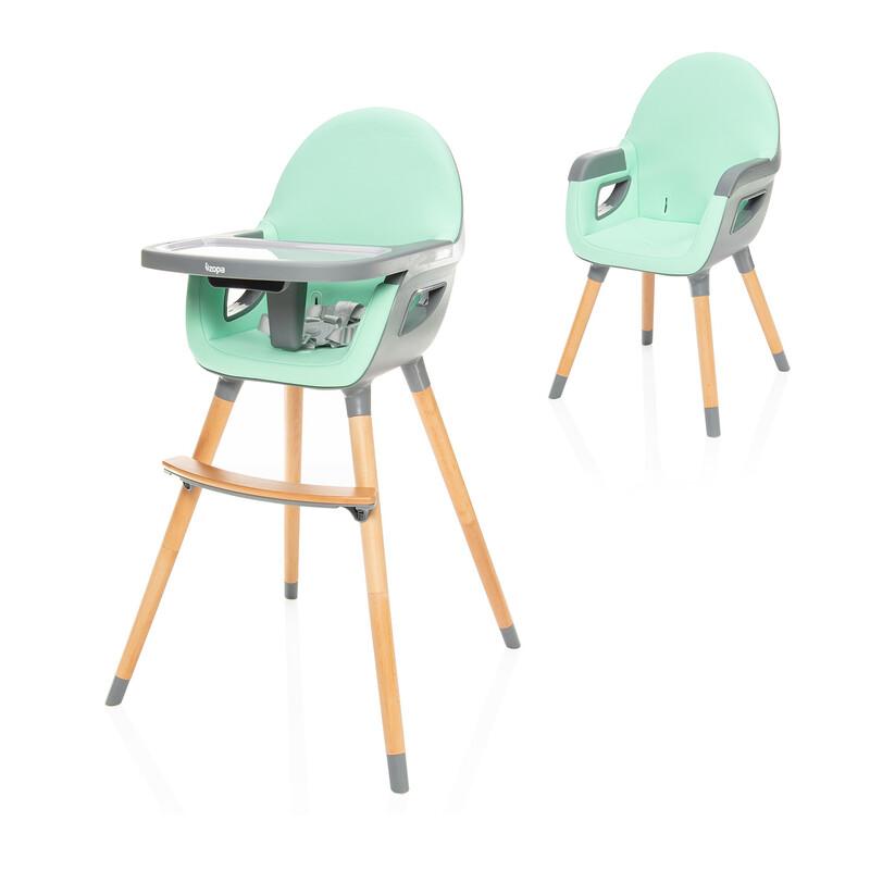 ZOPA - Detská stolička Dolce 2, Ice Green/Grey