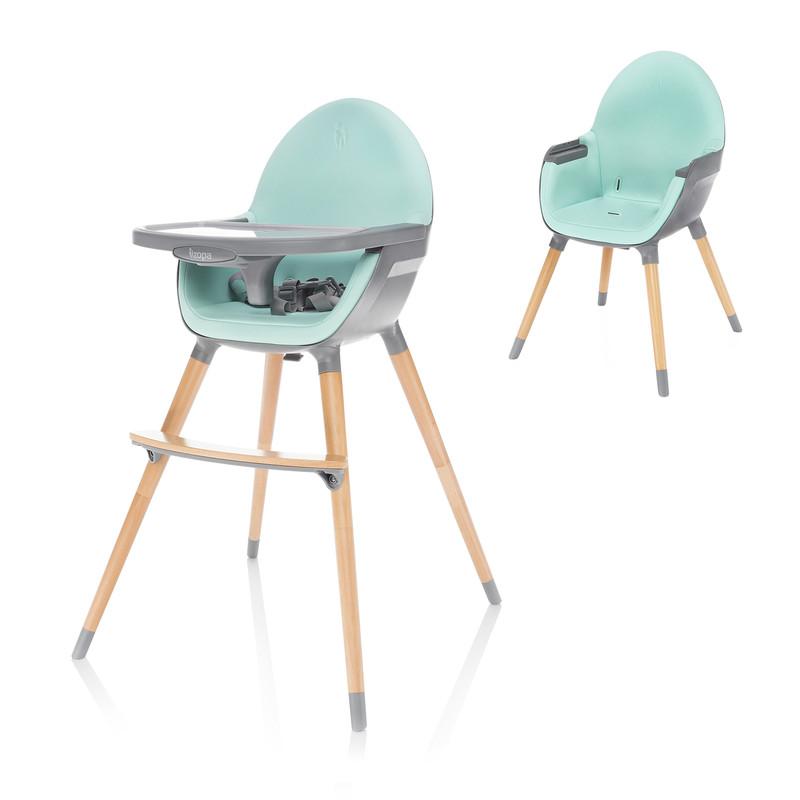 ZOPA - Detská stolička Dolce, Ice Green/Grey
