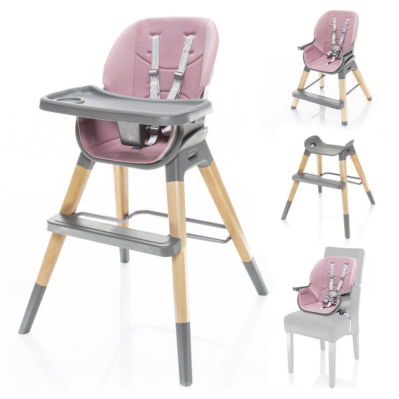 ZOPA - Detská stolička Nuvio, Blush pink