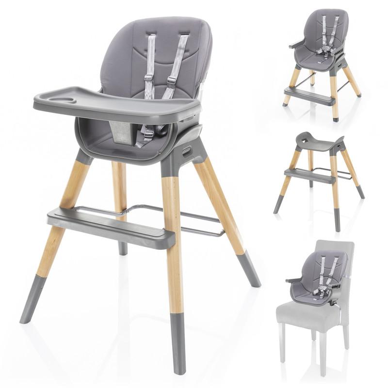 ZOPA - Detská stolička Nuvio, Dove Grey