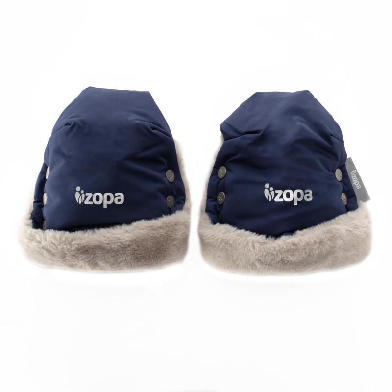 ZOPA - Zimné rukavice Fluffy, Royal Blue