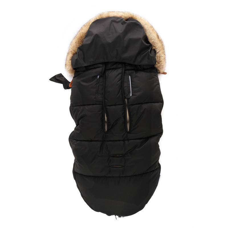 ZOPA - Zimný fusak Fluffy, Night Black
