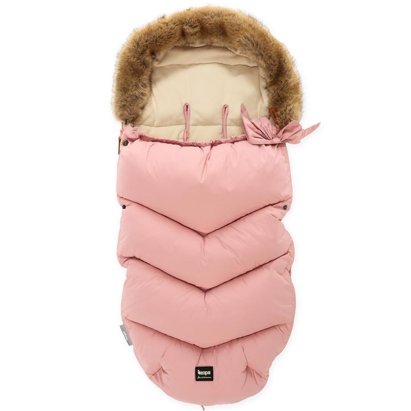 ZOPA - Zimný fusak Fluffy, Old Pink
