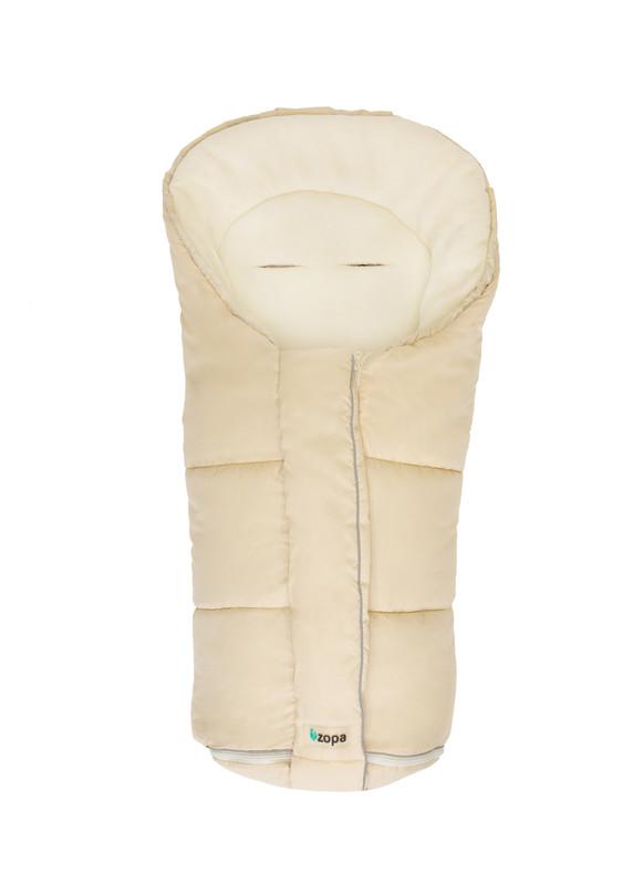 ZOPA - Zimný fusak Polar, Beige / Whitewash