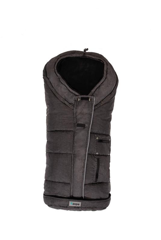 ZOPA - Zimný fusak Siberian, Black / Black