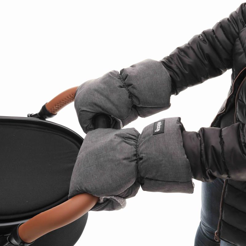 ZOPA - ZOPA Zimné rukavice, Grey