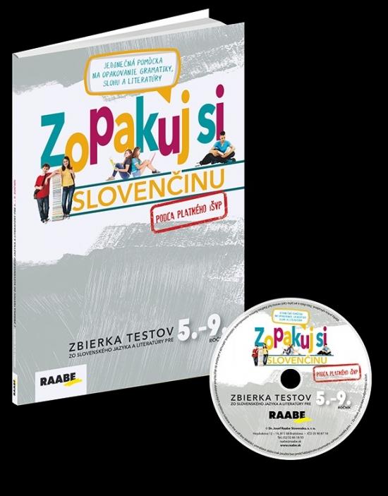 Zopakuj si slovenčinu – zbierka testov 5.-9. + CD(pre učiteľov) - Kolektív autorov