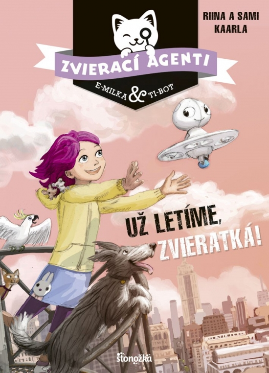 Zvierací agenti 1: Už letíme, zvieratká! - Kaarla, Sami Karrla Riina