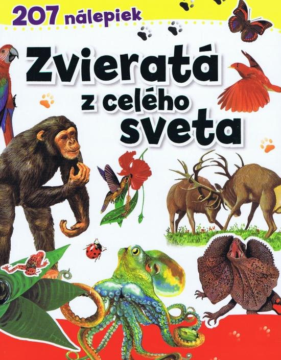 Zvieratá z celého sveta - 207 nálepiek